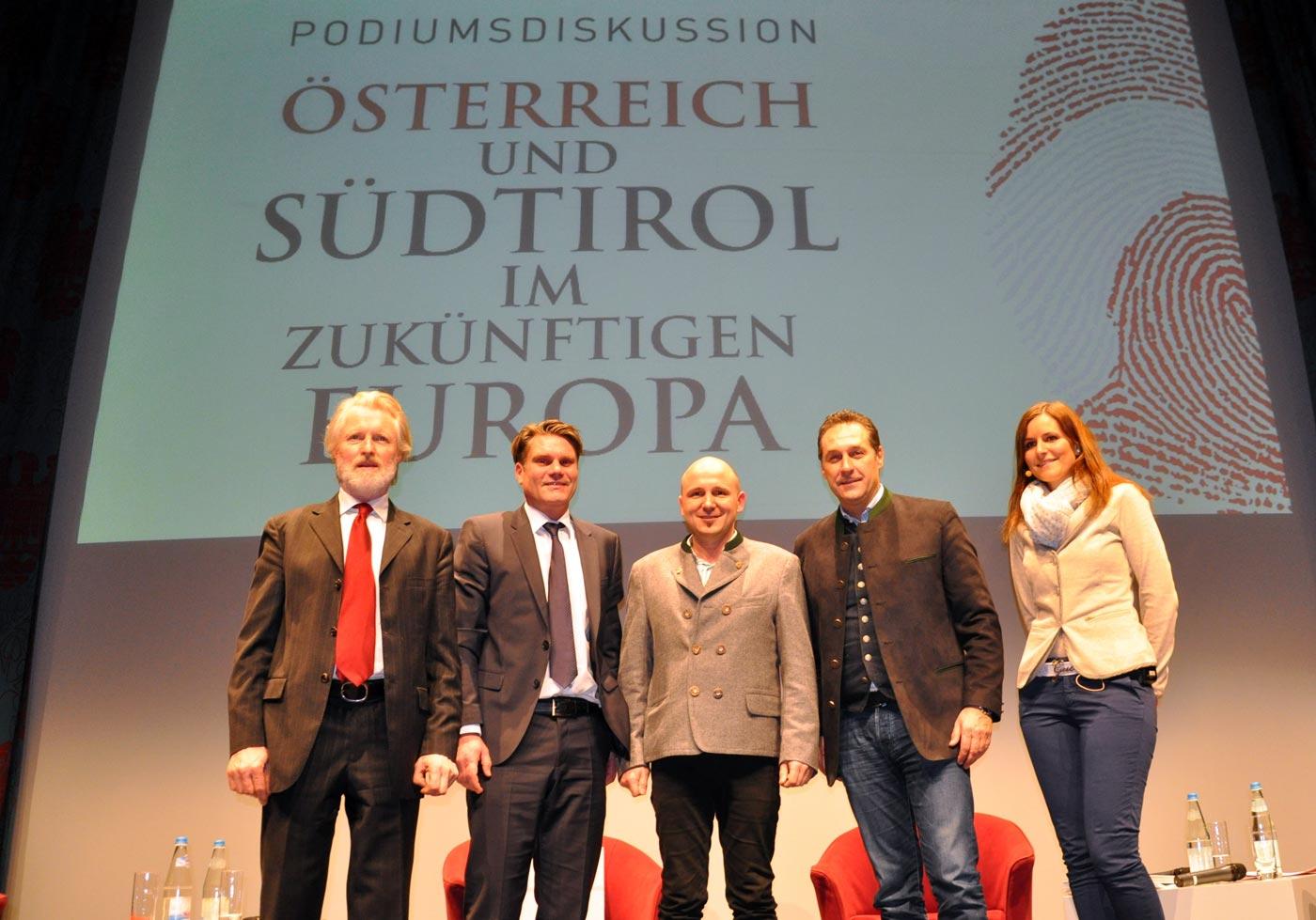 Österreich und Südtirol im zukünftigen Europa – klare Worte von H.C. Strache und Johannes Rauch