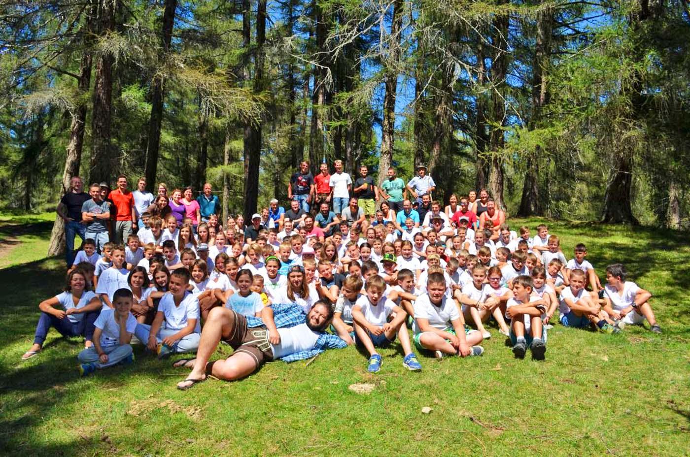 Jungschützenzeltlager in Altrei: großer Erfolg für 111 Kinder und Jugendliche
