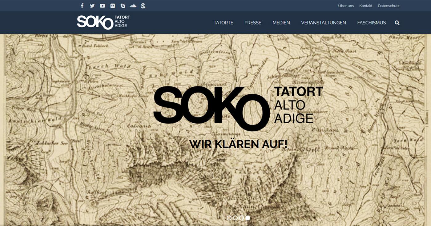 Toponomastik-Internetseite des SSB in neuem Kleid
