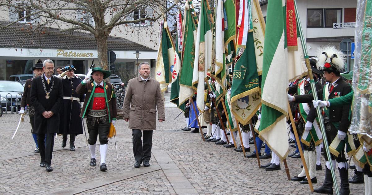 Bezirkstag des Schützenbezirkes Bozen in Terlan
