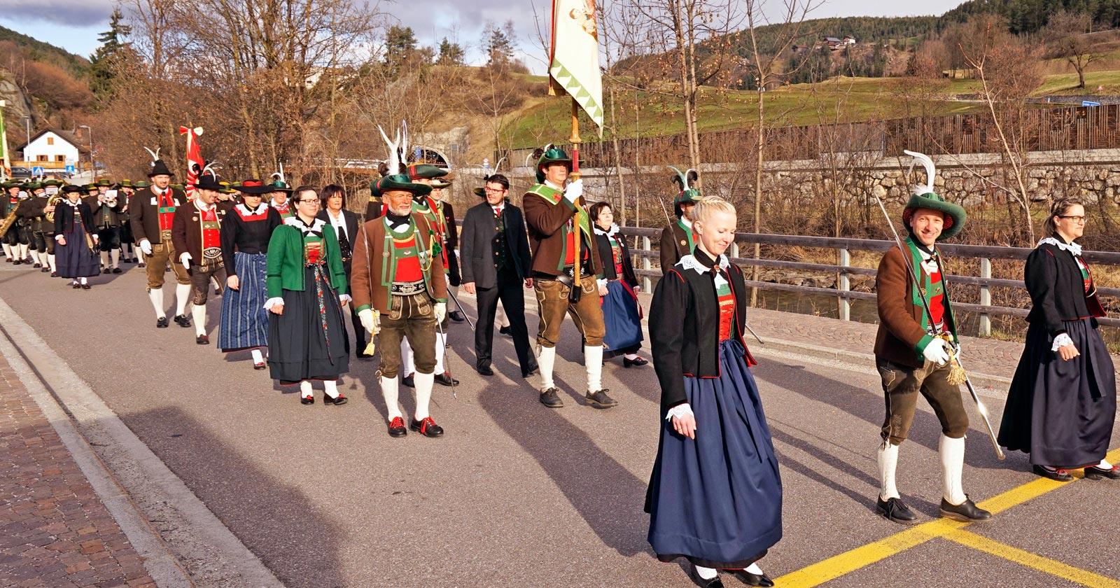 Bezirkstag der Pustertaler Schützen – Durch Zusammenhalt stark