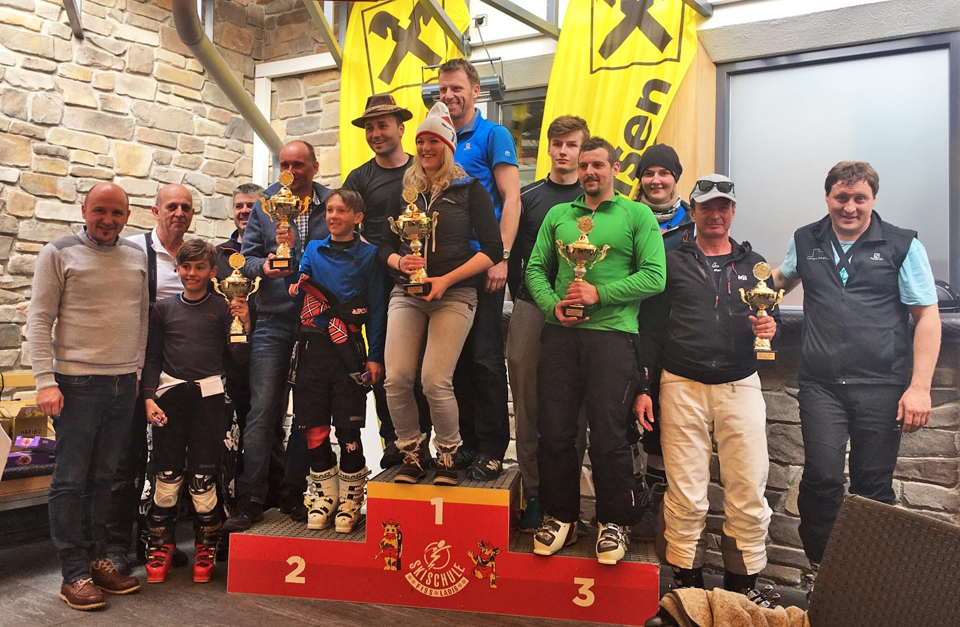 18. Tiroler Schützen-Skimeisterschaft in Fiss-Ladis