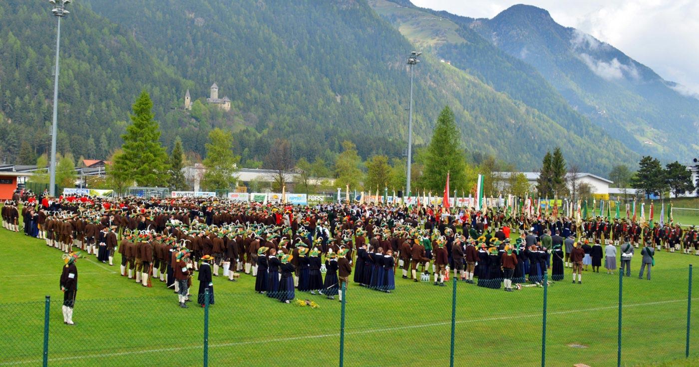 Bezirksschützenfest Pustertal: Bekenntnis zur Heimat Tirol