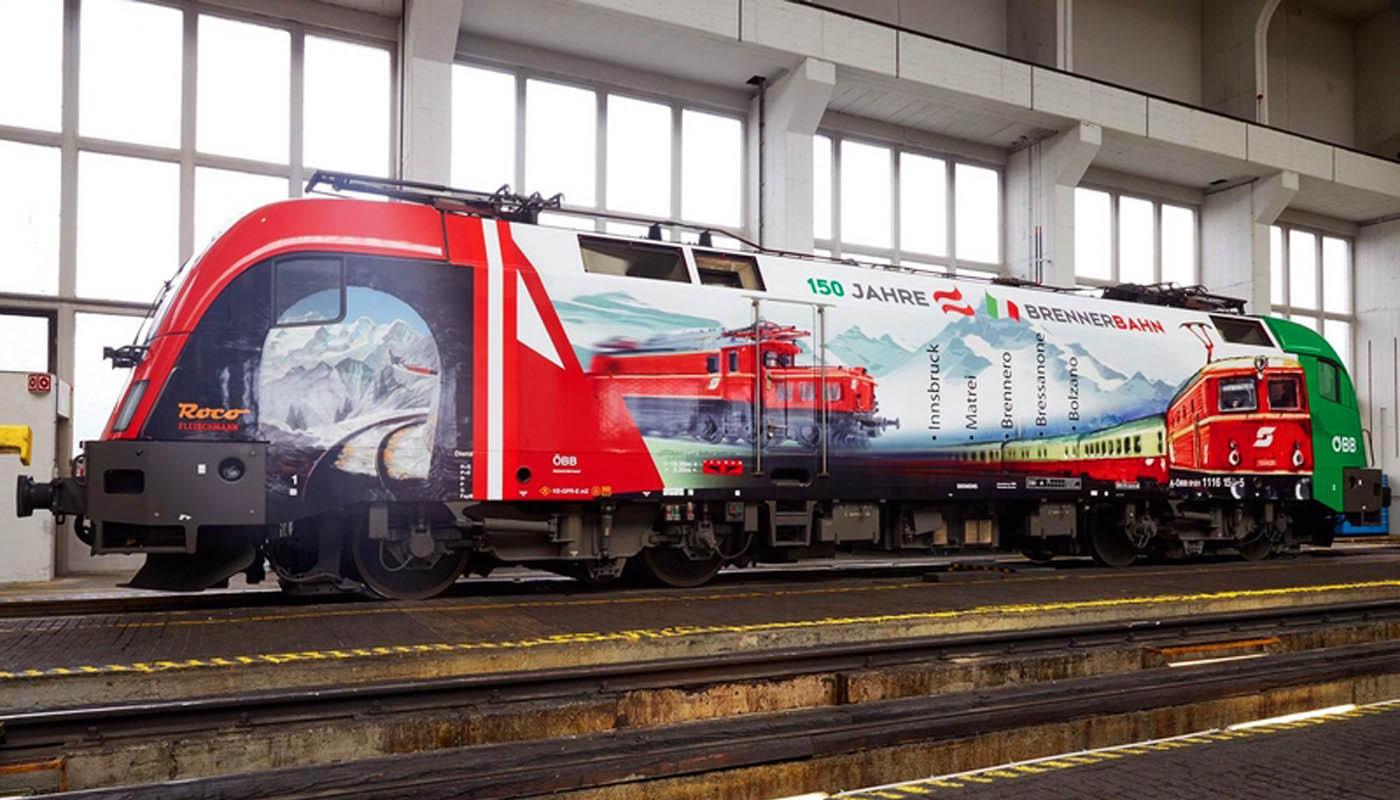 """""""150 Jahre Brennerbahn"""" – Italienisch-nationalistische Jubiläumslok"""
