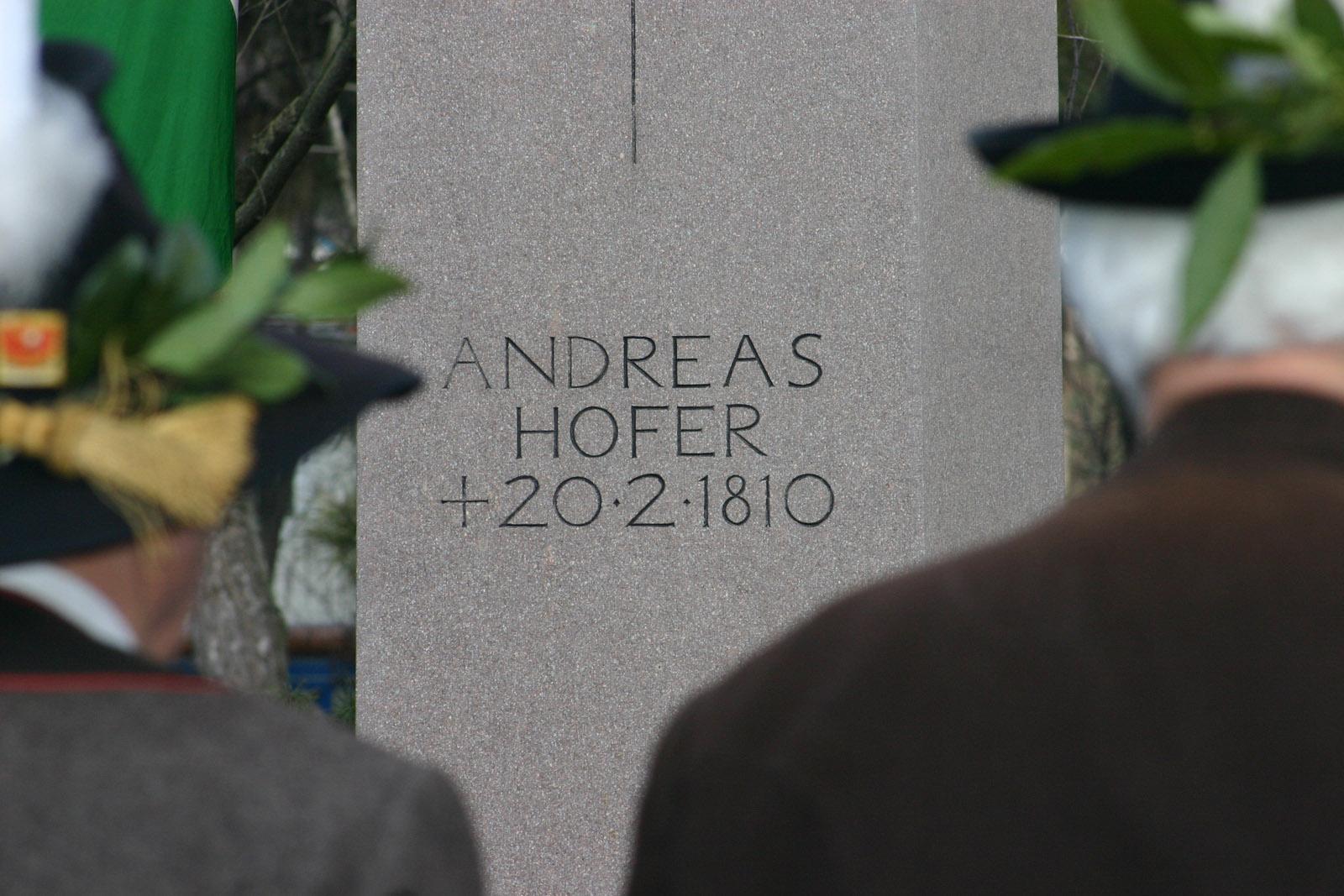 Andreas-Hofer-Gedenkfeier in Mantua