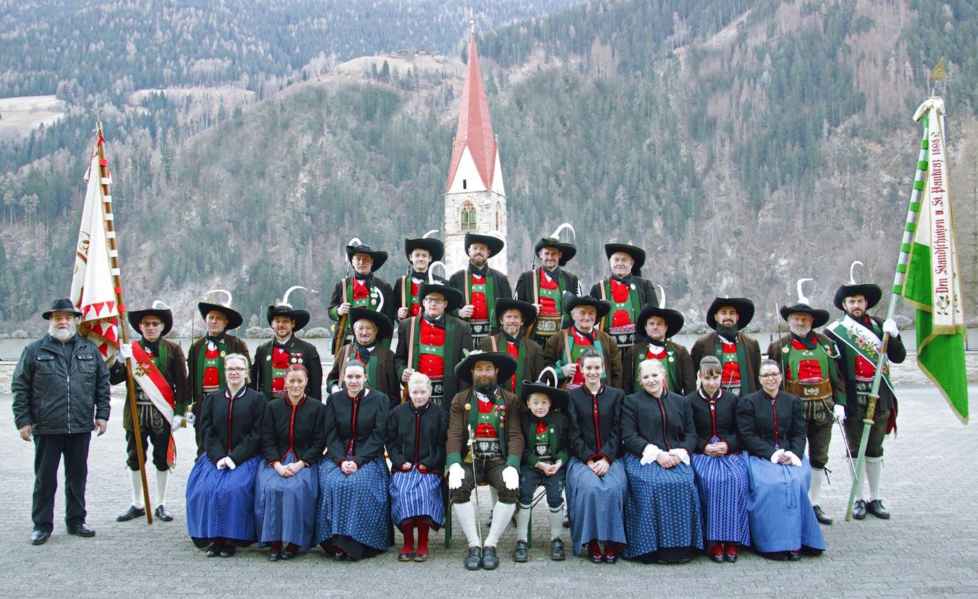 40-jähriges Wiedergründungsjubiläum der Schützenkompanie St. Pankraz