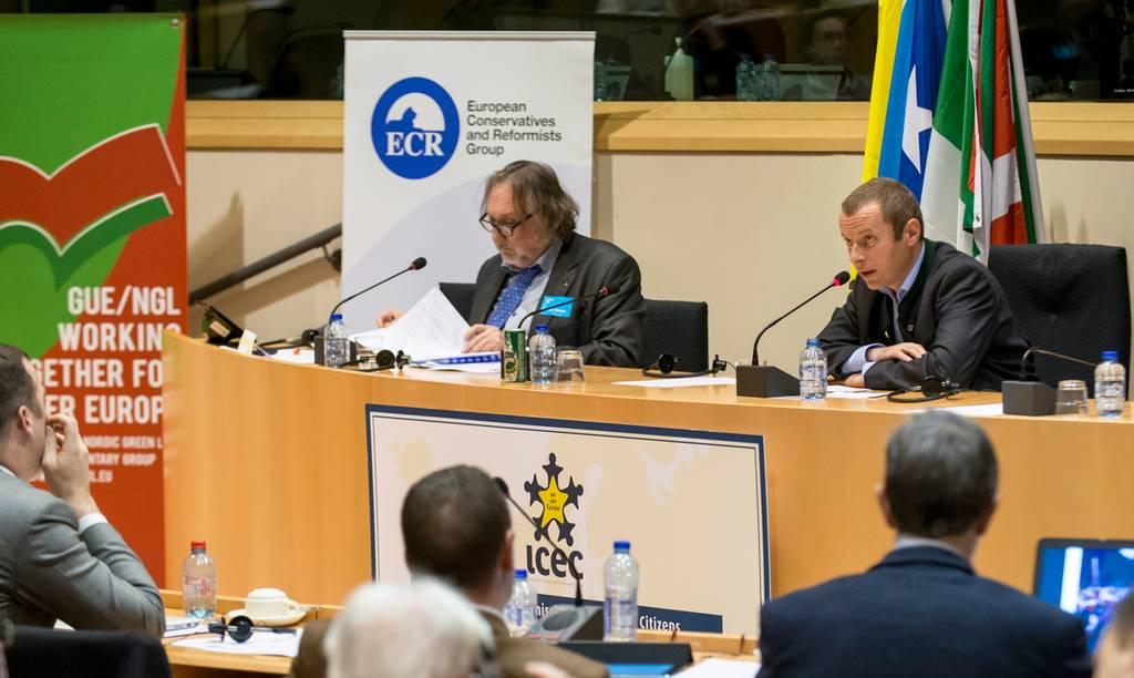 Europäischer Freiheitsverband in Brüssel gegründet – BGf. Florian von Ach hielt Rede im Europaparlament