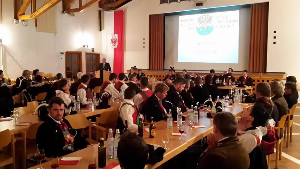 Bericht zum Bezirkstag des Schützenbezirkes Unterland
