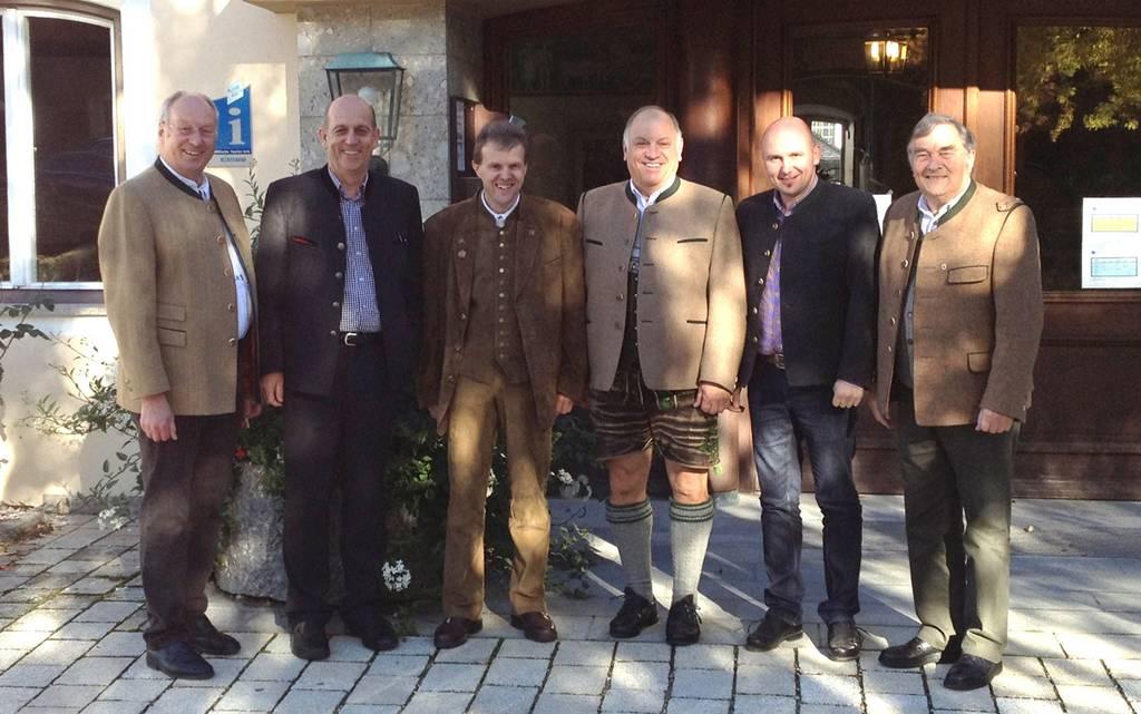 Treffen der Landeskommandanten in Gmund am Tegernsee