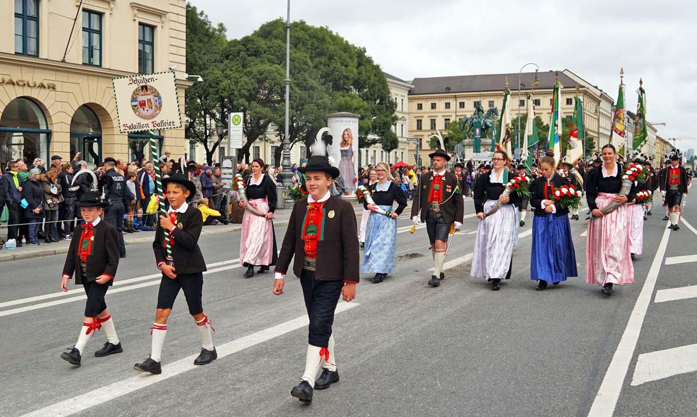 Mit dabei am größten Volksfest in München