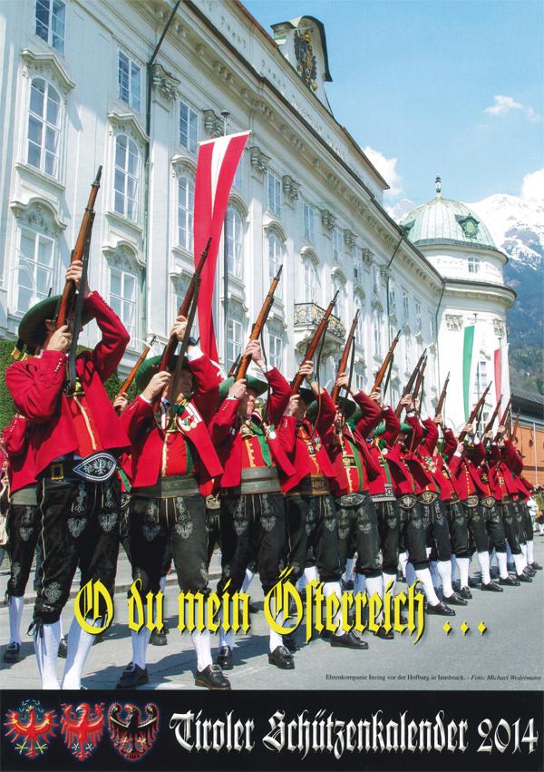 Der Tiroler Schützenkalender 2014 ist erschienen
