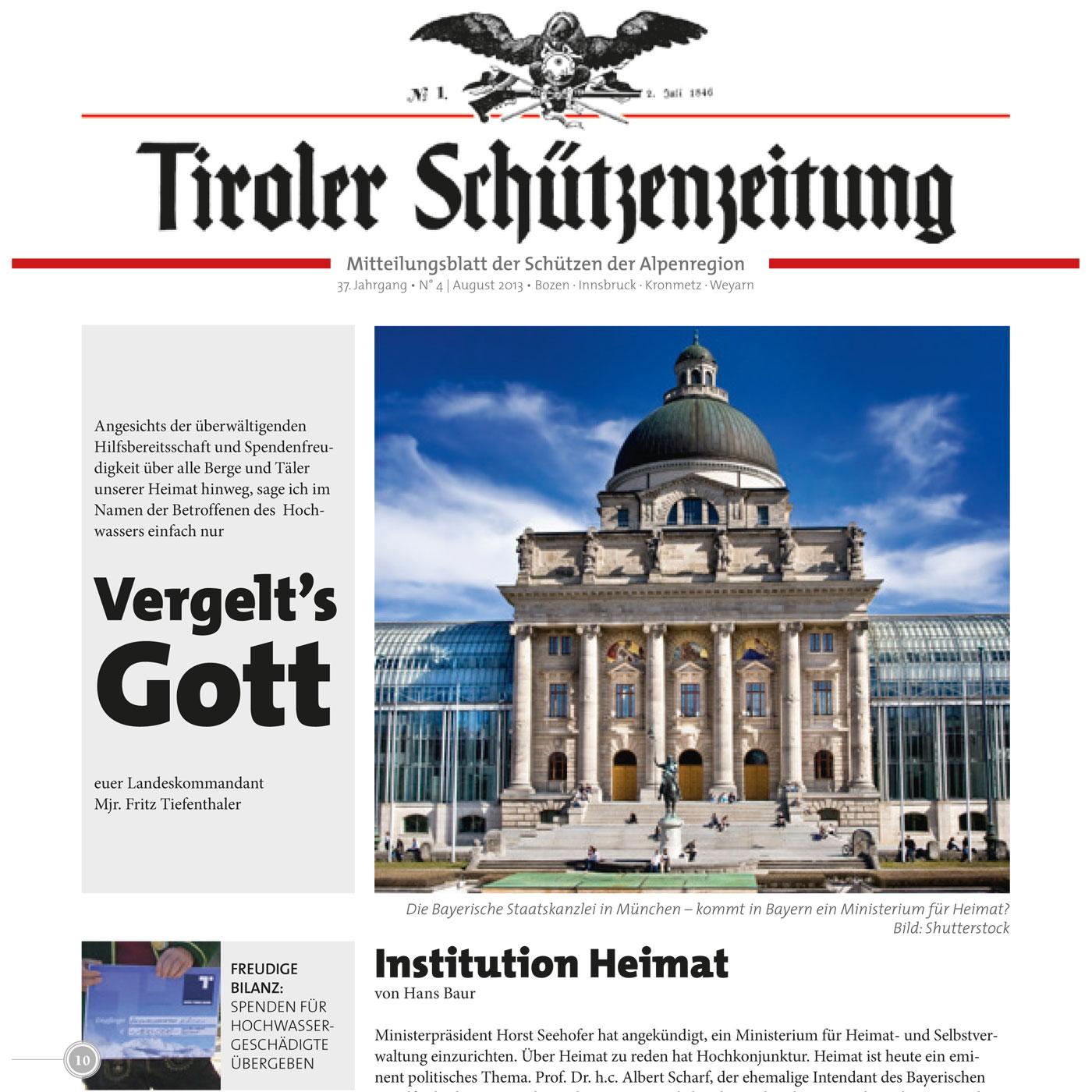 Schützenzeitung Nr. 4-2013