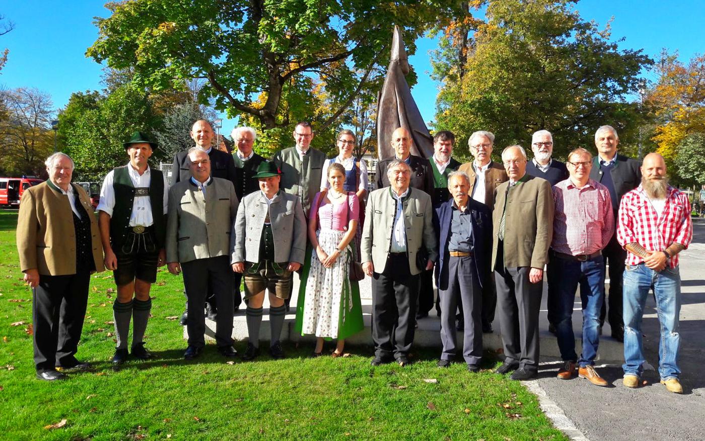 Treffen der Landeskommandanten in Oberbayern