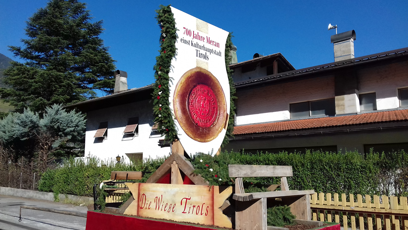 Meraner Traubenfest – Die Wiege Tirols und 700 Jahre Meran