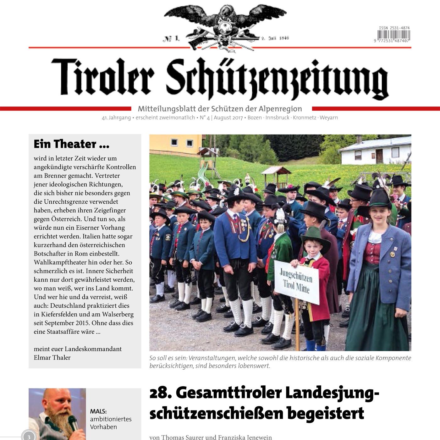 Schützenzeitung Nr. 4-2017