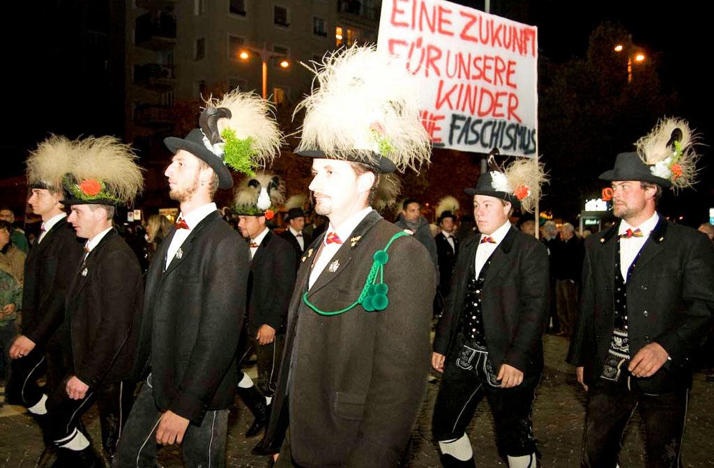 Starke Teilnahme des Schützenbezirkes Bozen