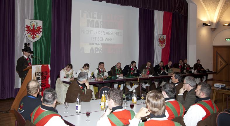 Bezirkstag Süd-Tiroler Unterland in Tramin