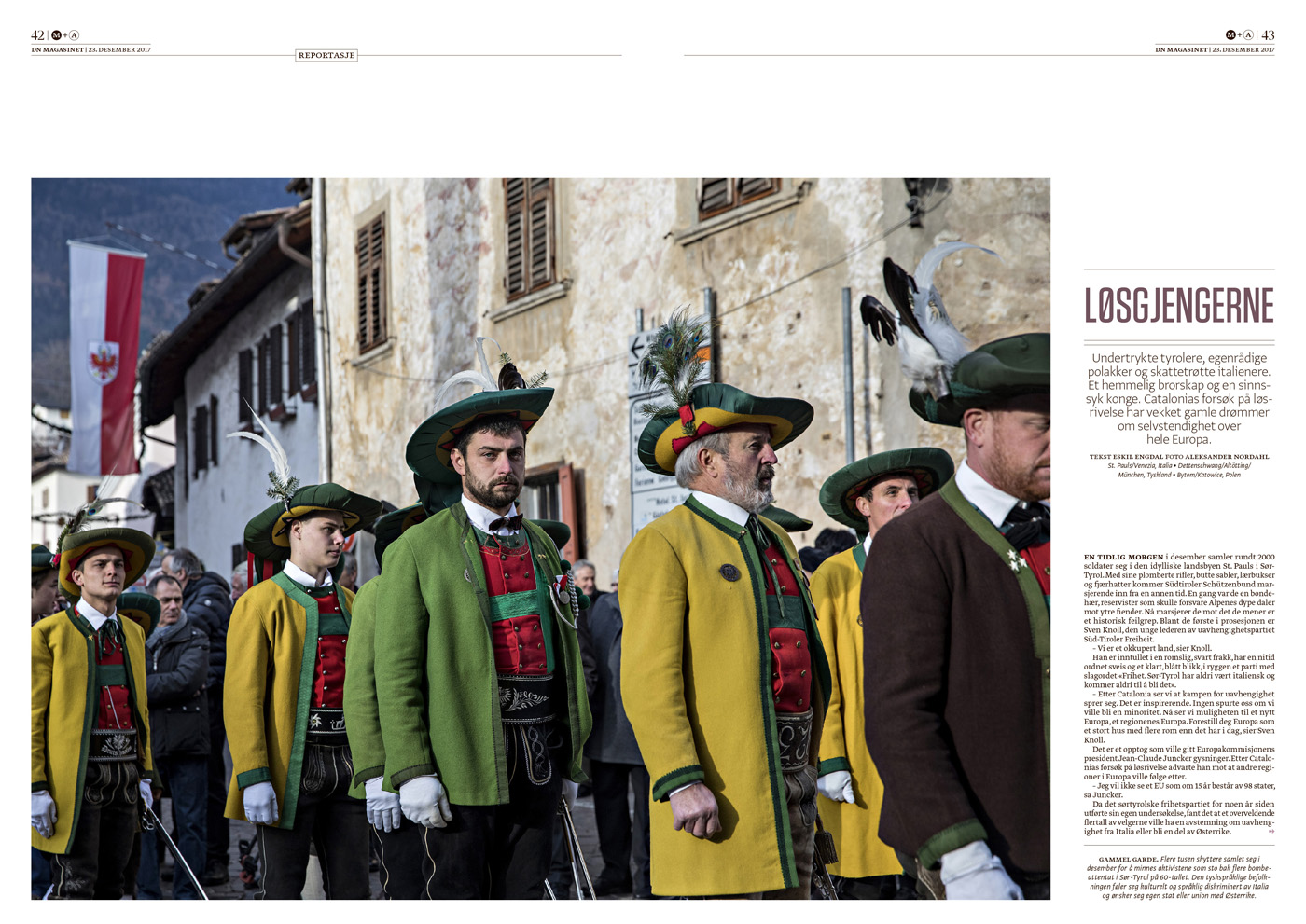 """""""Dagens Næringsliv"""" – Südtirols Ruf nach Unabhängigkeit"""