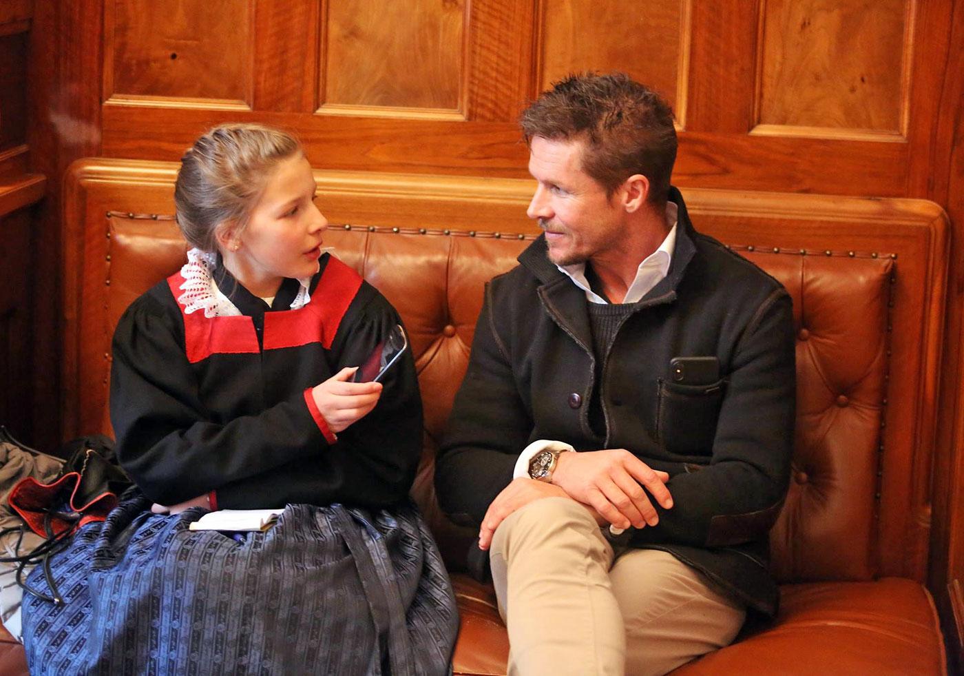 Interview mit Extremsportler Felix Baumgartner