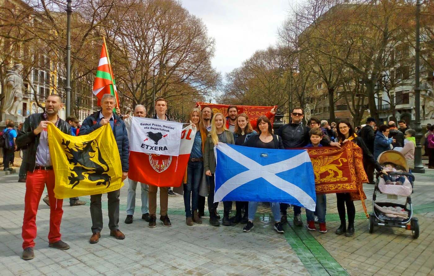 Großkundgebung im Baskenland
