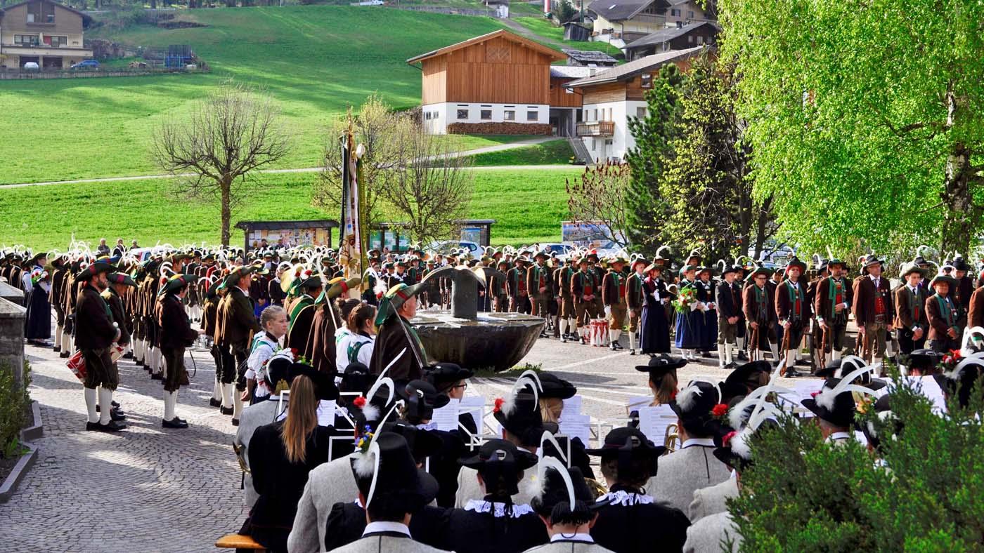 40-Jahrfeier der Schützenkompanie St. Johann in Ahrn