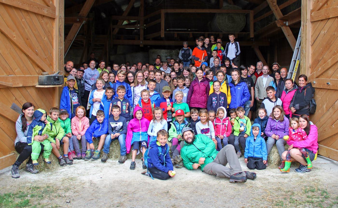 Erlebnis Avingatal – Tiroler Jungschützen beim traditionellen Zeltlager im Vinschgau