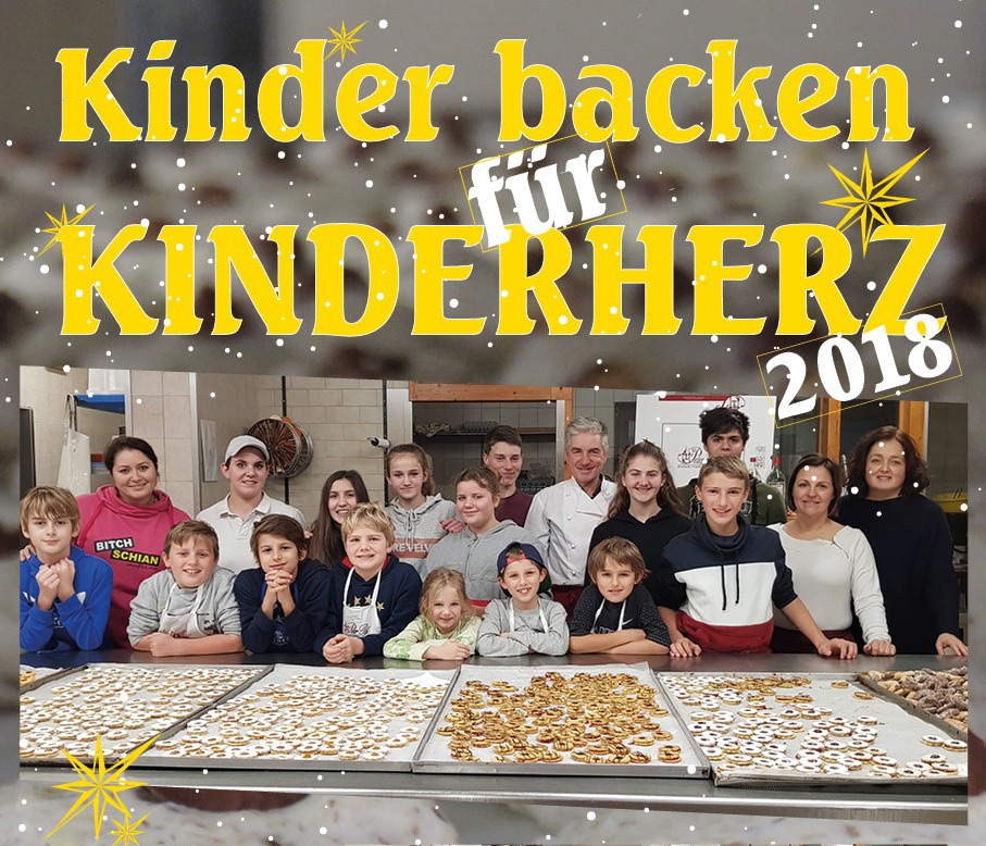 Kinder backen für Kinderherz