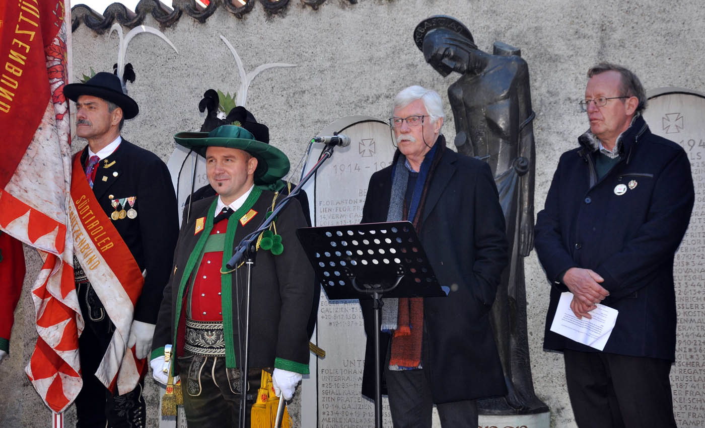 Kerschbaumer-Gedenken: Von Italien Entschuldigung gefordert