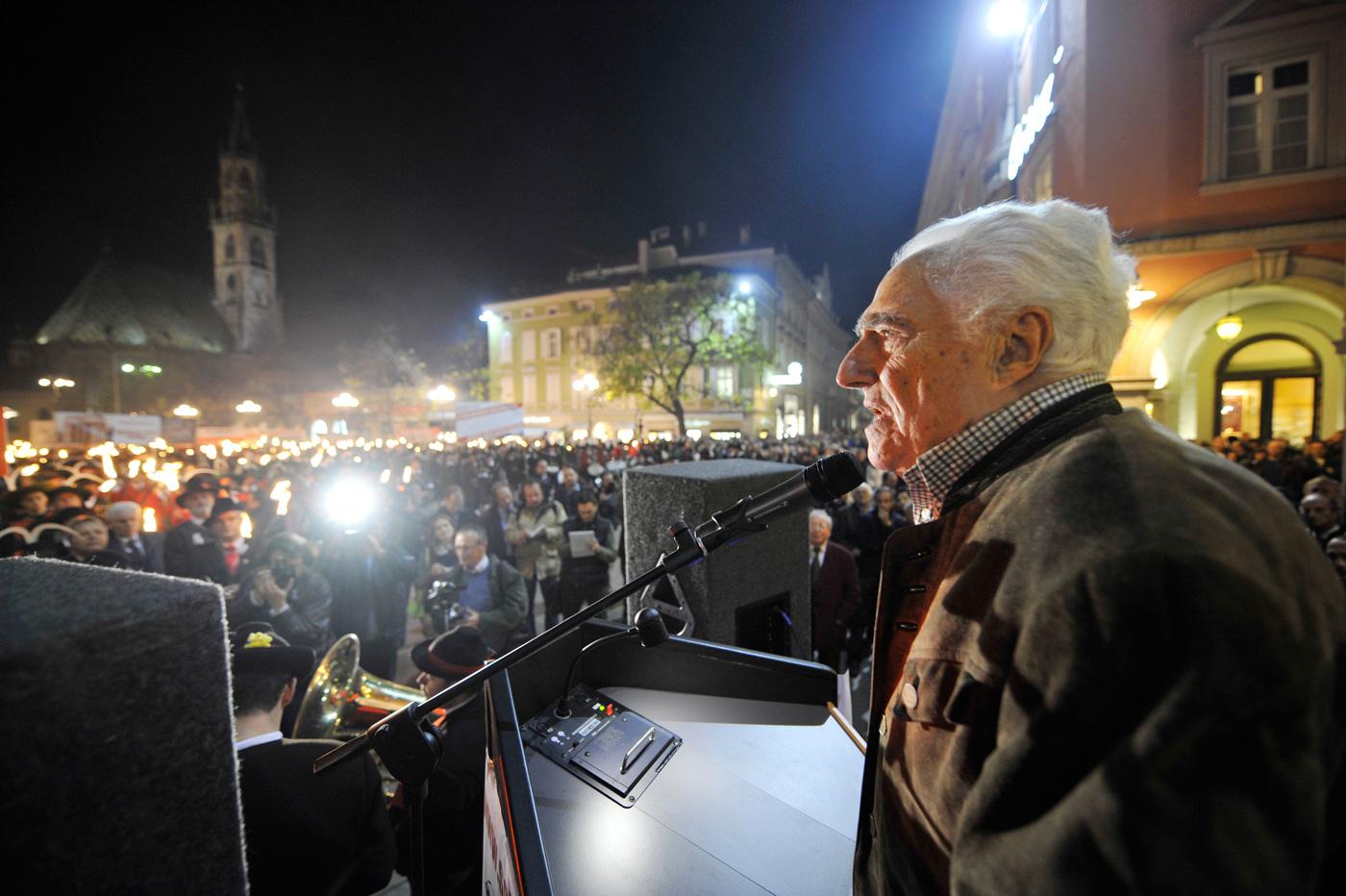 Schützenbund trauert um Dr. Sandro Canestrini