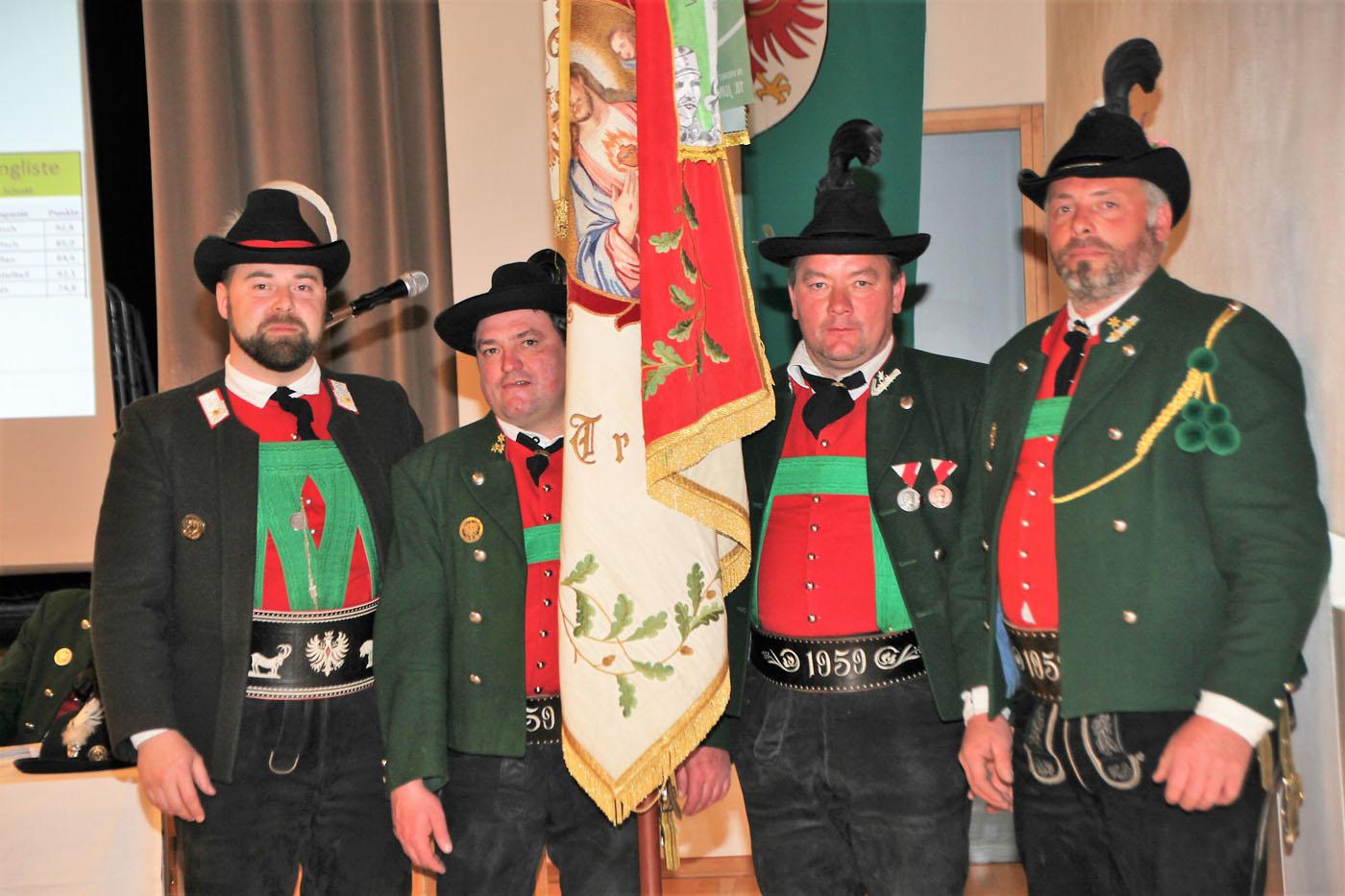 Bezirkstag des Schützenbezirkes Vinschgau