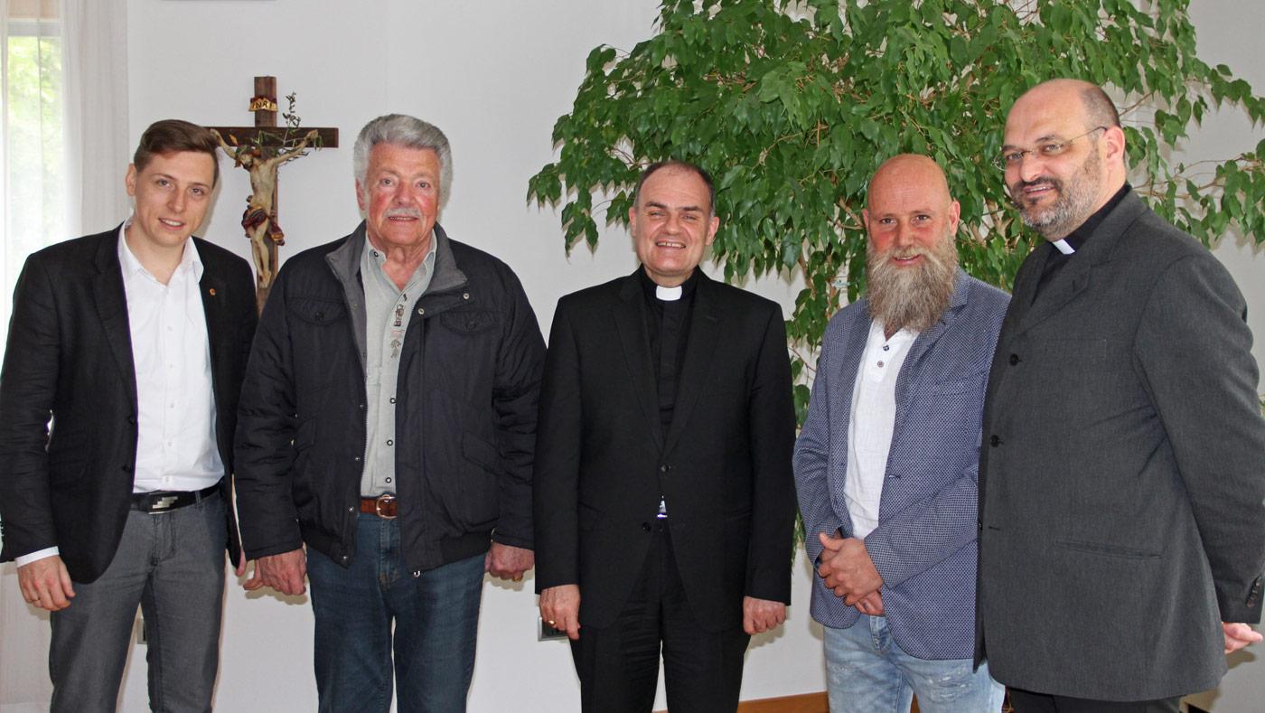 Schützenführung trifft Diözesanbischof Ivo Muser: Das gemeinsame Gespräch ist wichtig